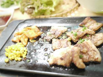 韓国料理で・・・