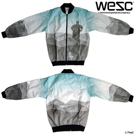 ウォ-ムアップジャケット 長袖 アウター 【メンズ WeSC(ウィーエスシー)】