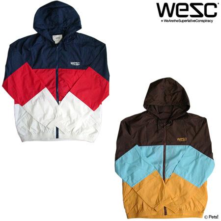 フ-ド付きジャケット 長袖 アウター 【メンズ WeSC(ウィーエスシー)◆S M】
