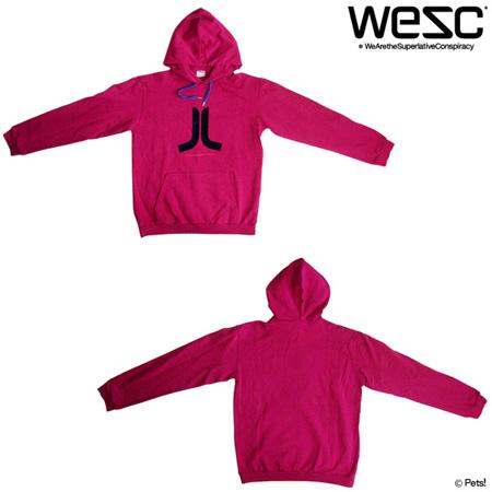 ロゴプリントパーカー トップス アウター フード 長袖 【メンズ WeSC(ウィーエスシー)◆M】
