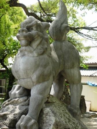 岩崎神社志免1