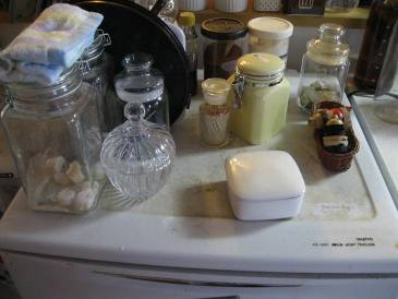 掃除前冷凍庫上