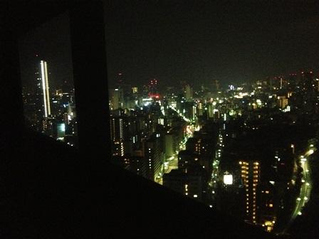 ana crownhotel 28fハーバーランド側夜景