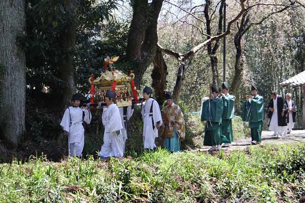 笠山荒神社 春の大祭4
