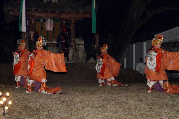 お旅所祭 舞楽2
