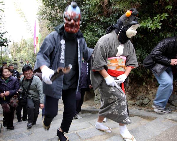 飛鳥坐神社 おんだ祭4