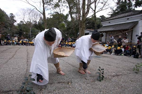 大和神社 御田植祭4