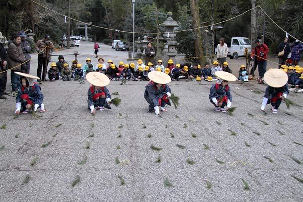 大和神社 御田植祭7