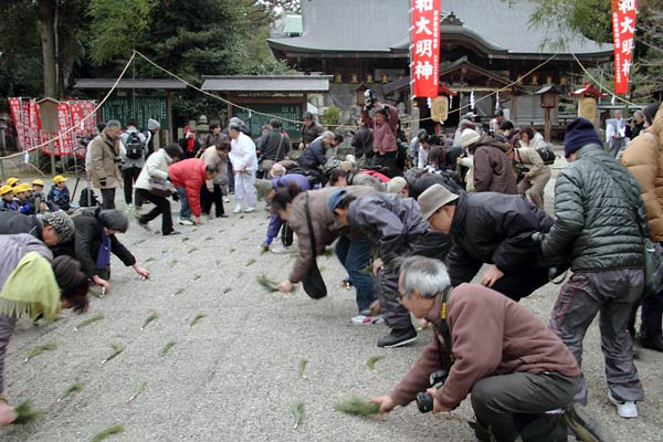 大和神社 御田植祭8