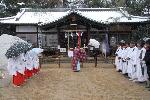 小泉神社 お田植祭1