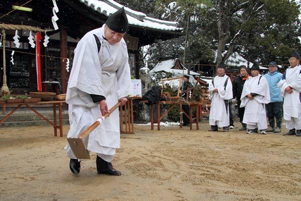 小泉神社 お田植祭3