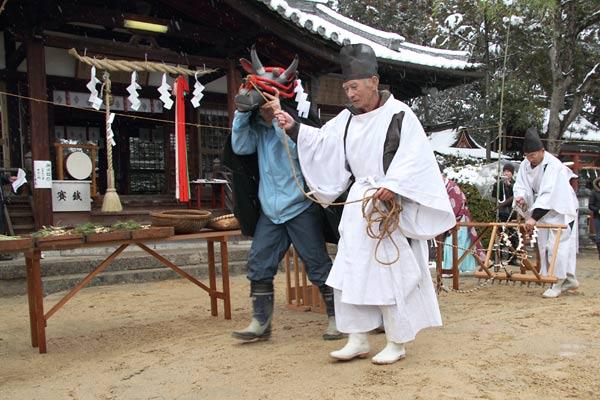 小泉神社 お田植祭4