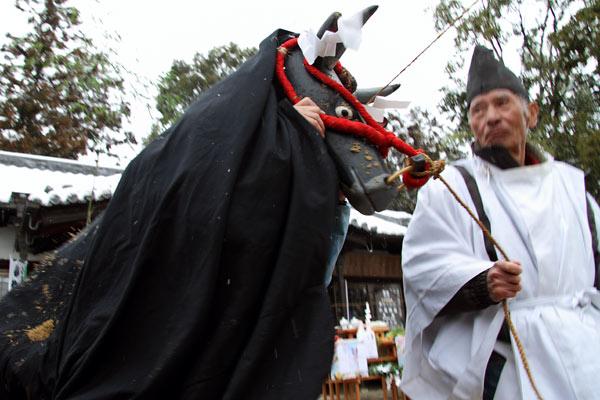 小泉神社 お田植祭5