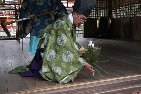 村屋神社 御田祭り3