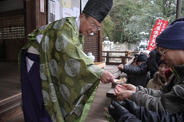 村屋神社 御田祭り4