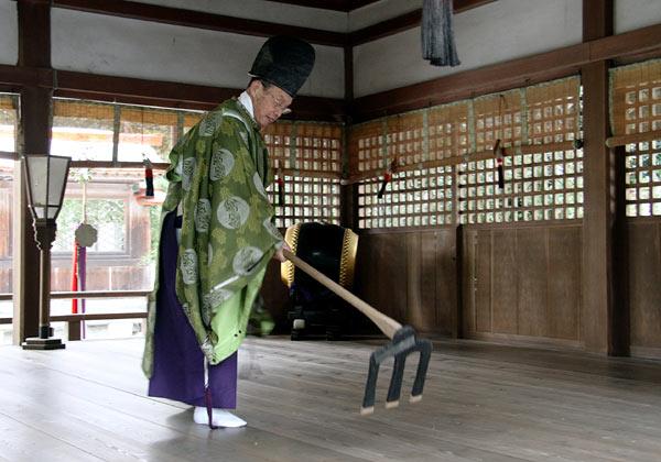 村屋神社 御田祭り5