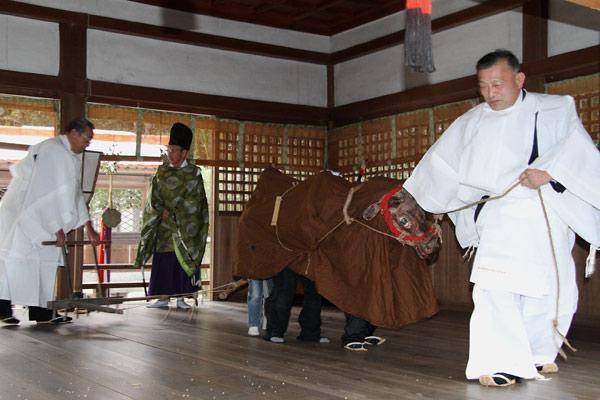 村屋神社 御田祭り6