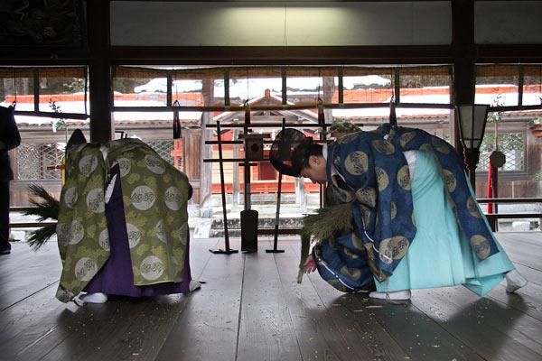 村屋神社 御田祭り7