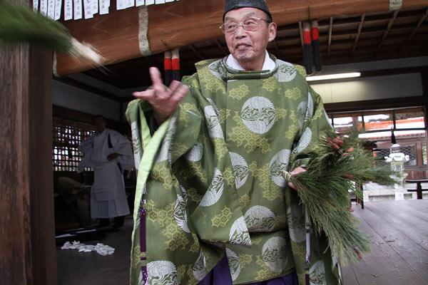 村屋神社 御田祭り8