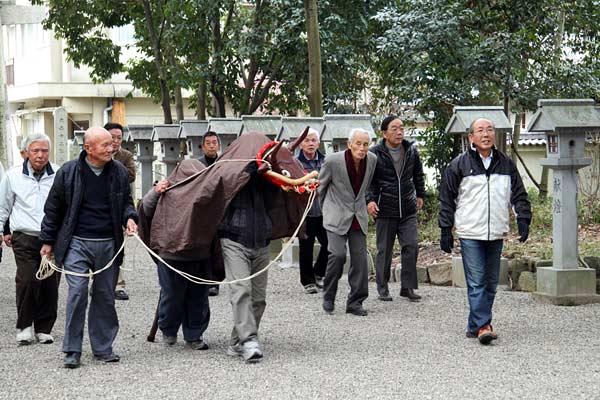 池坐神社 御田植祭1