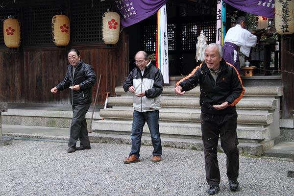 池坐神社 御田植祭2
