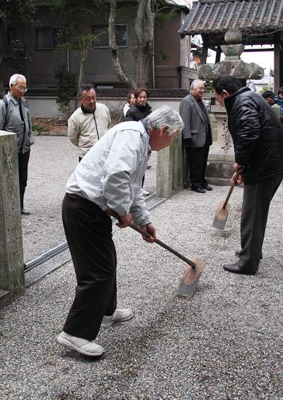 池坐神社 御田植祭3