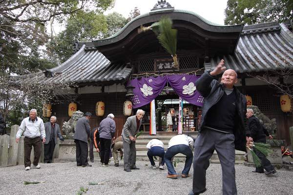 池坐神社 御田植祭5