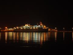Der Schiff an der Spliter Hafen