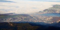 Uebersicht der Stadt Luzern