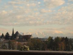 Bern aus Bundeshaus