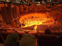 Tribune, Koelner Philharmonie