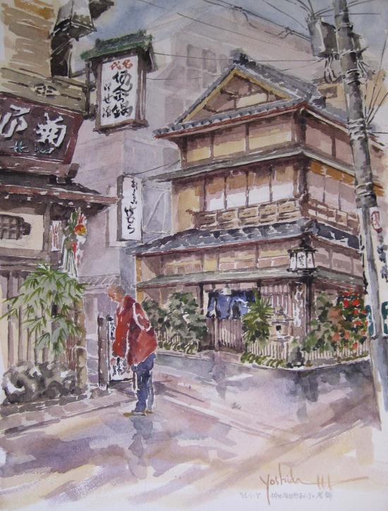 神田須田町付近の老舗