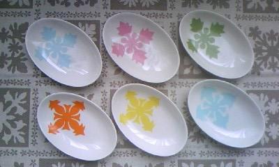 豆皿(オーバル)