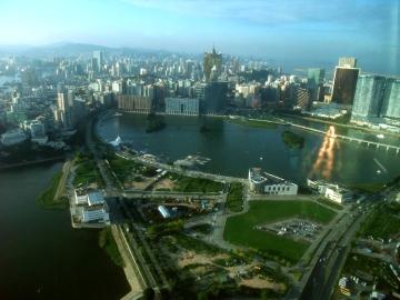 マカオ421マカオタワー眺望