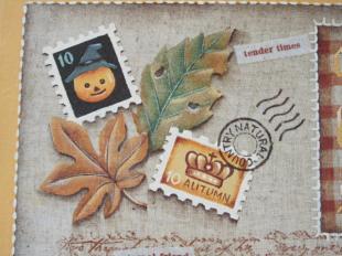この切手を文鳥ちゃんに。。。^^