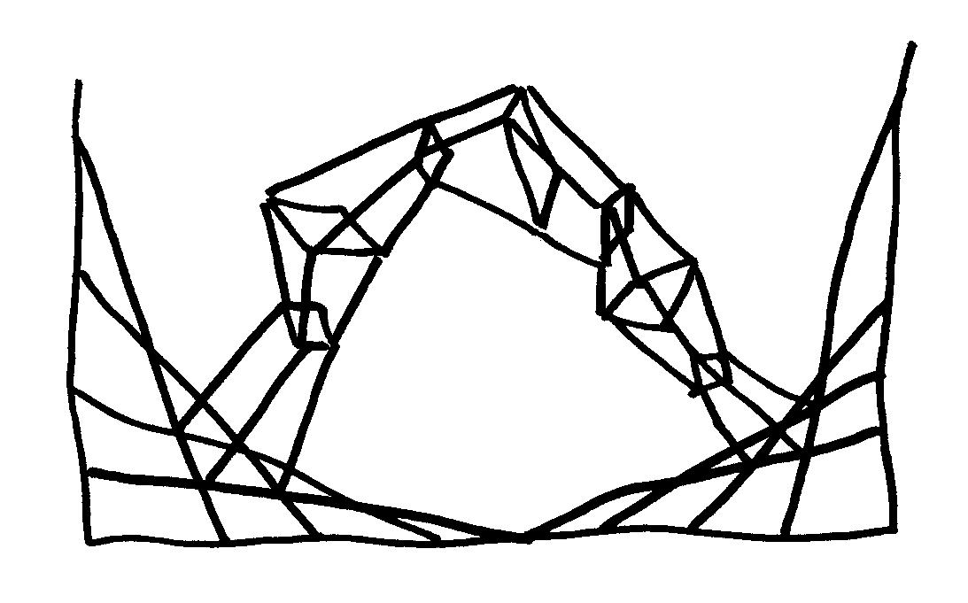 平面構成の図