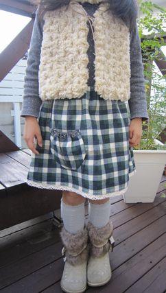 ソルトガール スカート