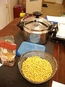 自家製納豆作り
