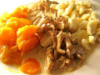 ポーランド料理 子羊キノコ
