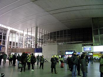 中央駅内部