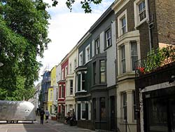 ロンドン住宅街