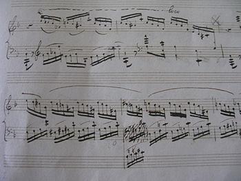 ショパン 楽譜