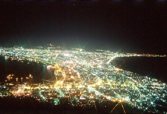hakodate函館夜景