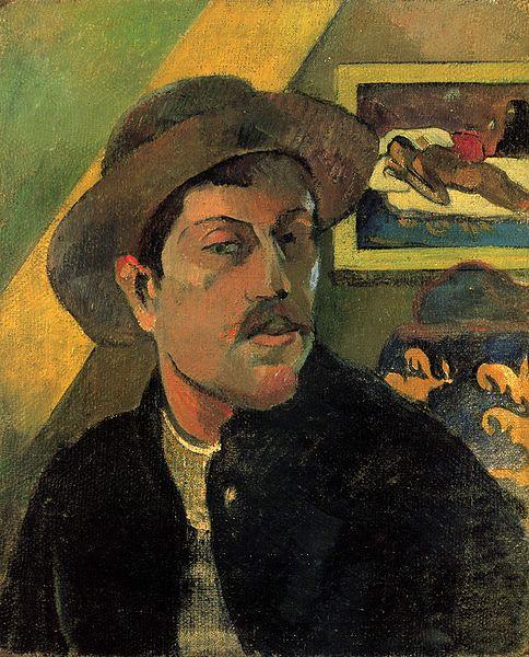 484px-Paul_Gauguin_111ゴーギャン自画像
