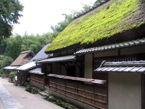sagano-toriimoto-kamimathi嵯峨鳥居本・上地区の民家