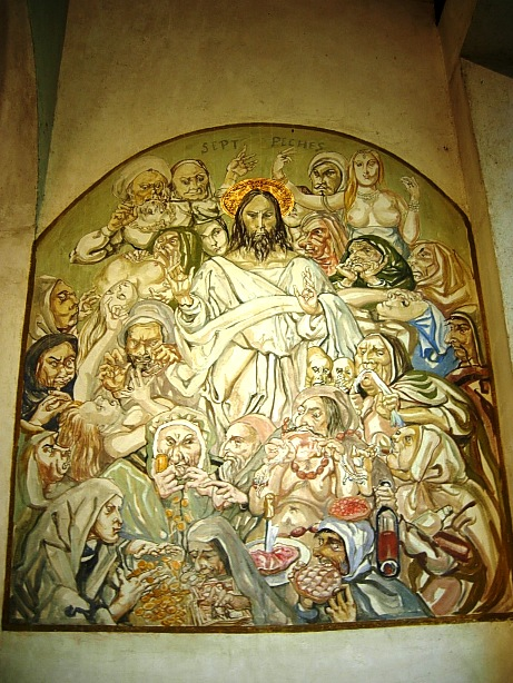 f0095128_191295フジタ礼拝堂・七つの大罪