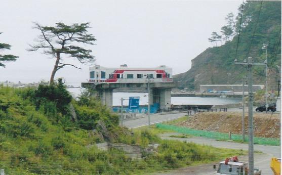 津波被害車両