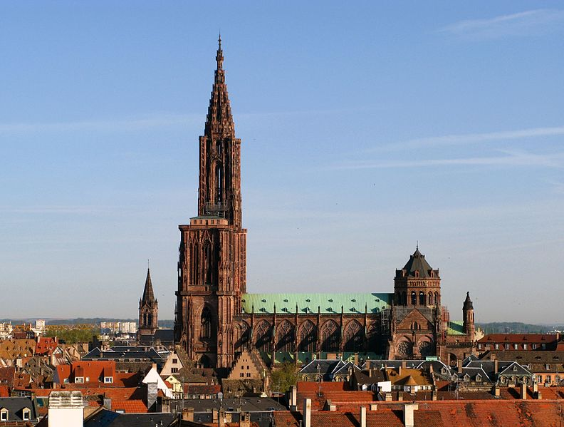 Strasbourg_Cathedralストラスブール大聖堂