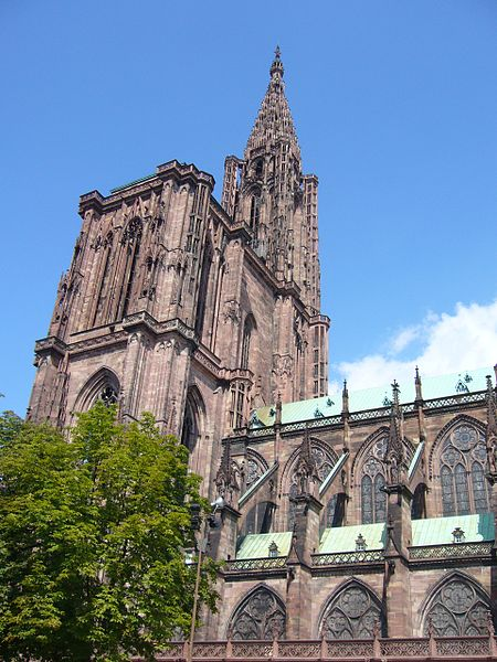 450px-Absolute_cathedrale_Strasbourg_04ストラスブール大聖堂