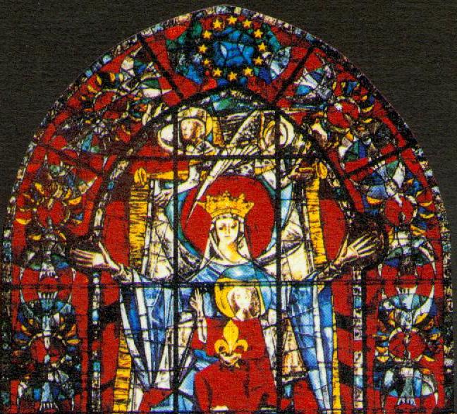 Virgen_estrasburgo_UEステンドグラス